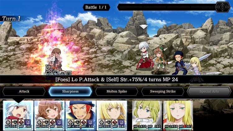DanMachi - MEMORIA FREESE screenshot-5
