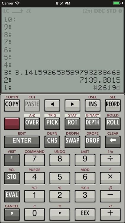 RPN 28x Calc screenshot-0