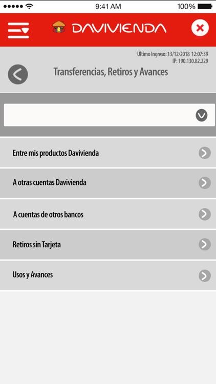 Empresas Davivienda Móvil screenshot-4