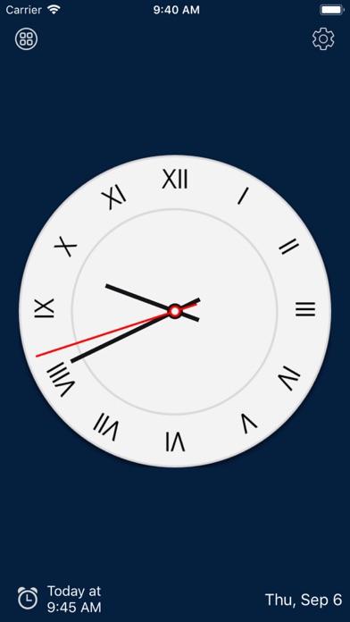 アナログ時計 - 時計ウィジェット,目覚まし時計のおすすめ画像6