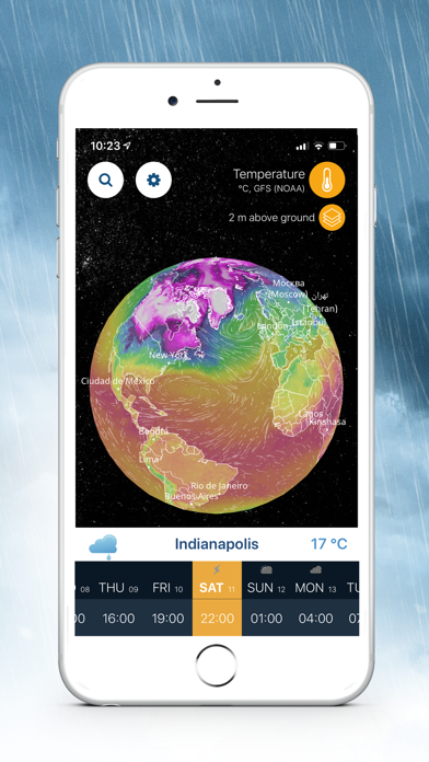 Ventusky: Weather Maps Screenshot