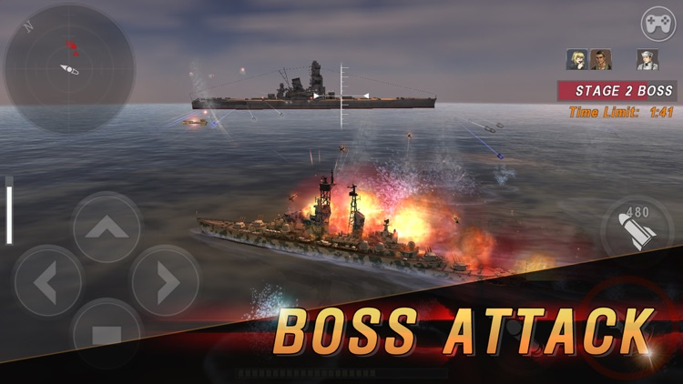 WARSHIP BATTLE:3D World War II screenshot-5