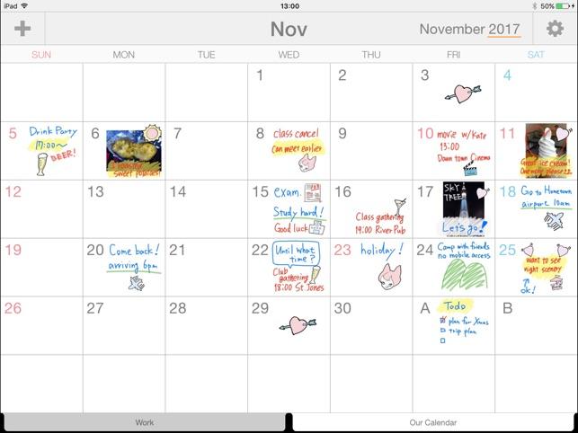 Palu - Handwriting Calendar - on the App Store