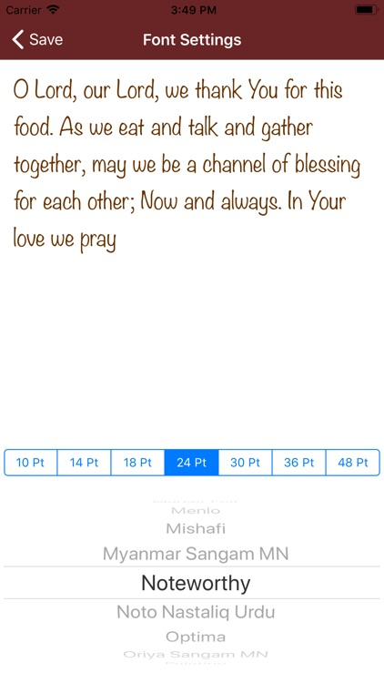 Mealtime Prayers screenshot-4