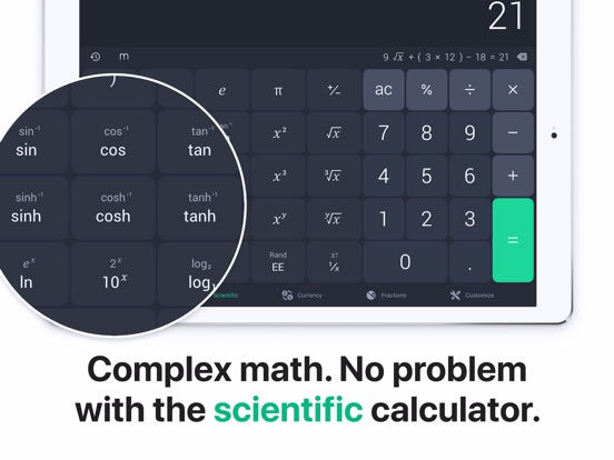 Screenshot #2 for The Calculator