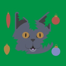 Christmas Stickers Leo the Cat