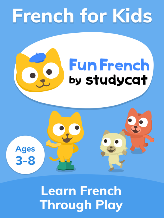 Studycat - Fun French for Kids screenshot