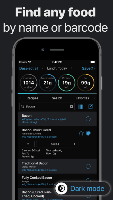 Keto.app - Keto Diet Tracker Screenshot