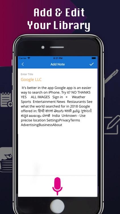 Text to Speech - Music Player screenshot-4