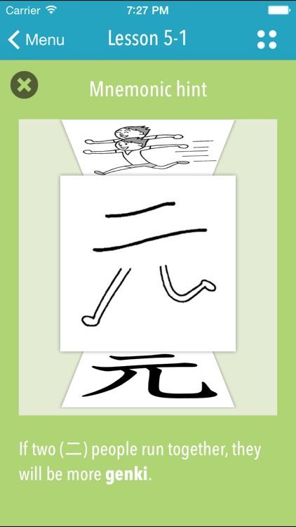 GENKI Kanji Cards for 2nd Ed. screenshot-4