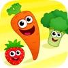 趣味食物!宝宝游戏小拼图益智幼儿园儿童教育婴儿早教