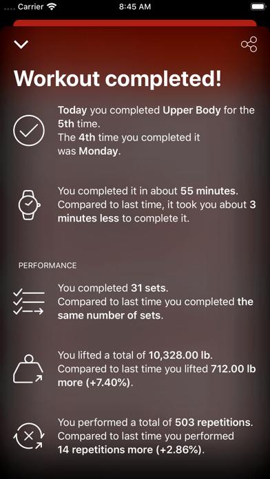 GymBook - Strength trainingのおすすめ画像8