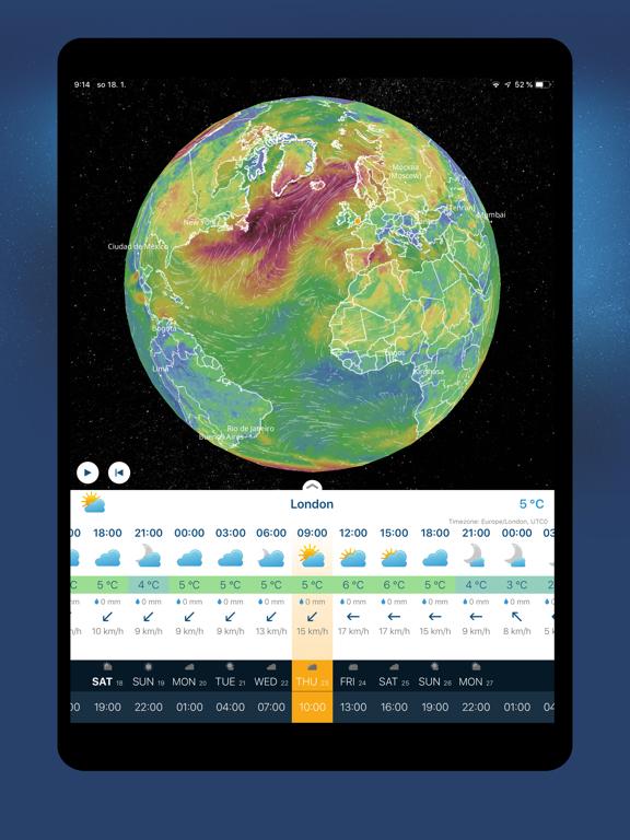 Ventusky: Prévisions météo