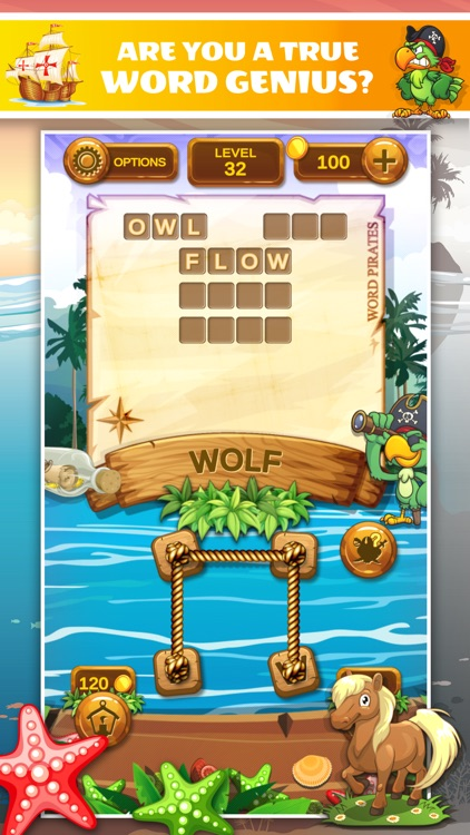 Word Pirates: Word Puzzle Game screenshot-4