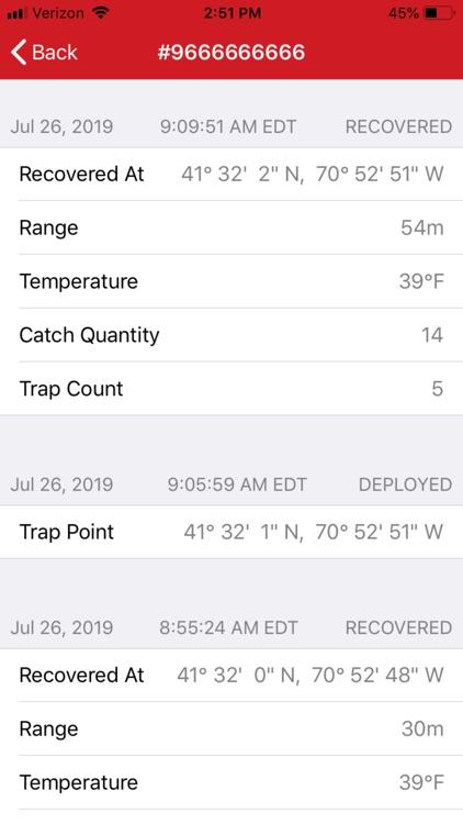 Trap Tracker screenshot-6