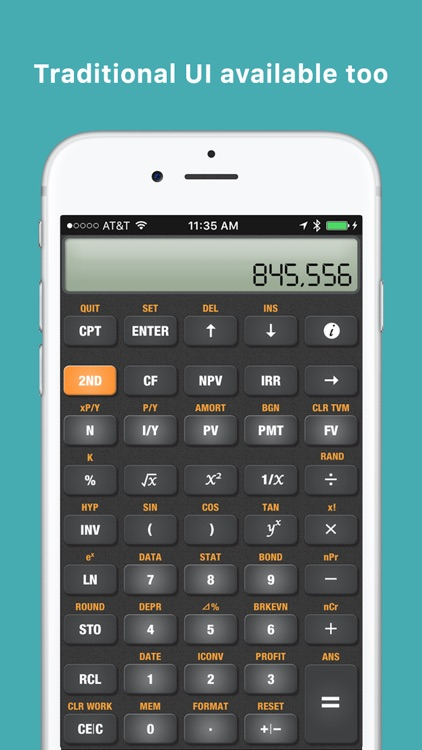 BA Financial Calculator Pro screenshot-1