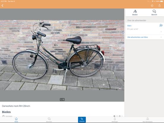 Marktplaats - koop en verkoop iPad app afbeelding 4