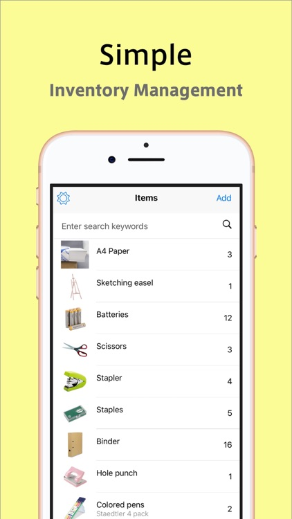 Tana Inventory by Instoll Inc