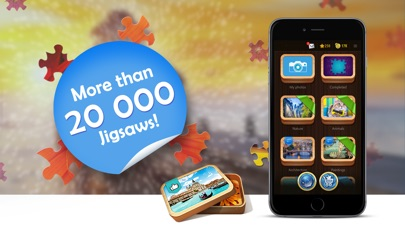 Screenshot for Magic Jigsaw Puzzles in Czech Republic App Store