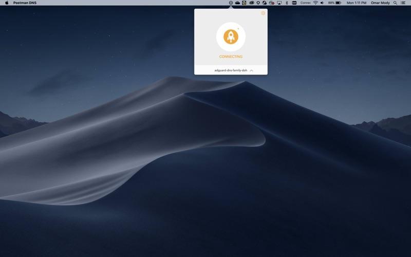 Rocket DNS скриншот программы 1