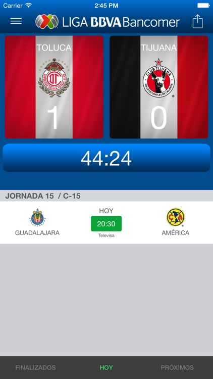 Liga BBVA MX App Oficial screenshot-3