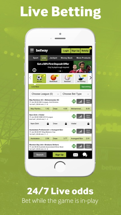 Betway Sport Betting screenshot-4