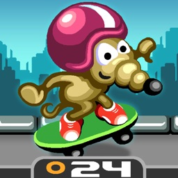 Rat On A Skateboard