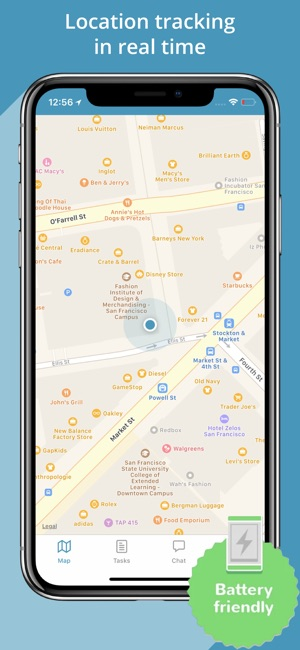 Mobile Phone GPS Tracker on the App Store