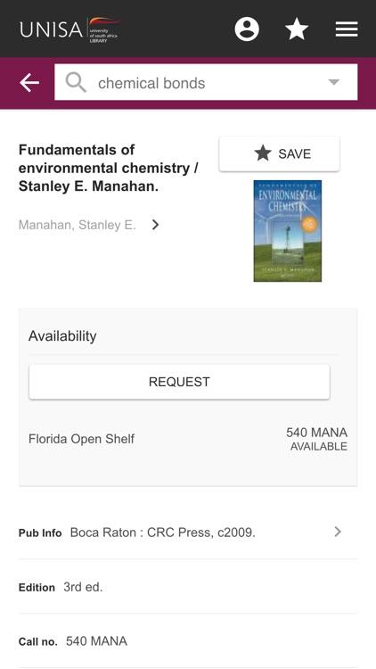UNISA Library screenshot-3