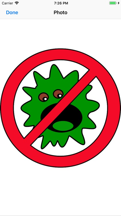 Germ Stickers