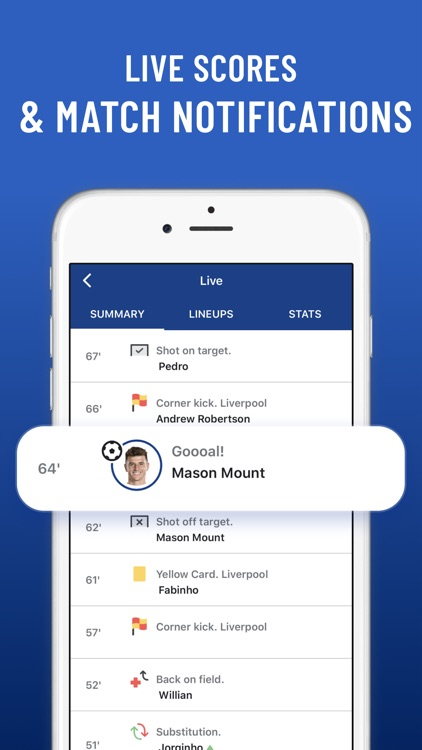 Blues Live: unofficial fan app screenshot-5