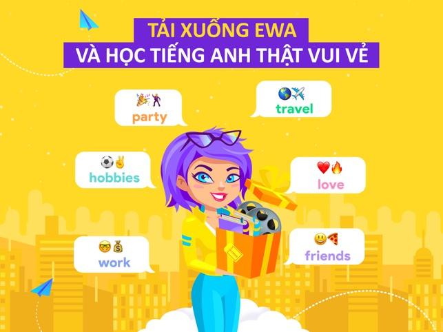 EWA English: Học tiếng Anh