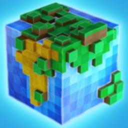 方块世界工艺-3D沙盒建筑生存游戏