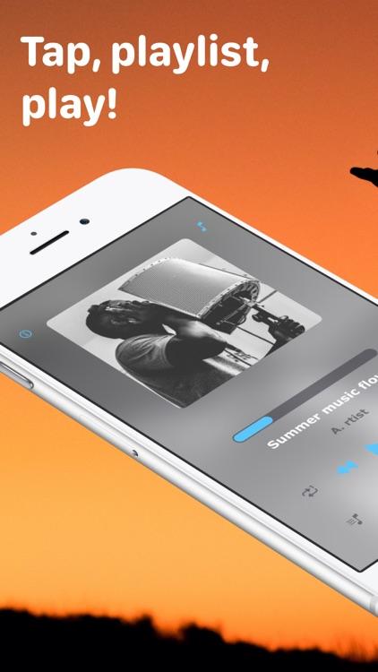 FlowTune: smart music player screenshot-0