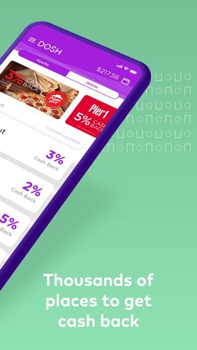 Dosh: Automatic Cash Back App app image