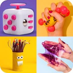Anti stress Fidget 3D Calm kit