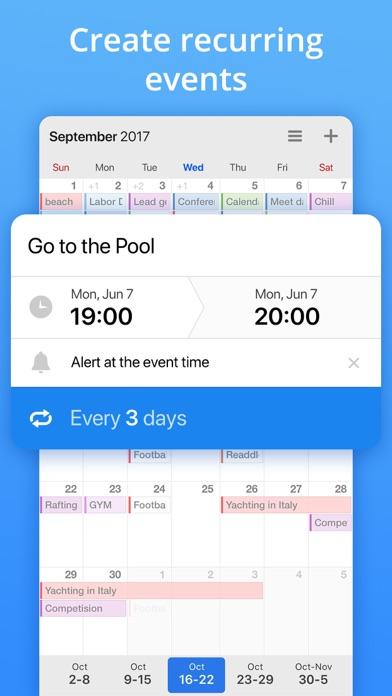 Calendars by Readdle Screenshot on iOS