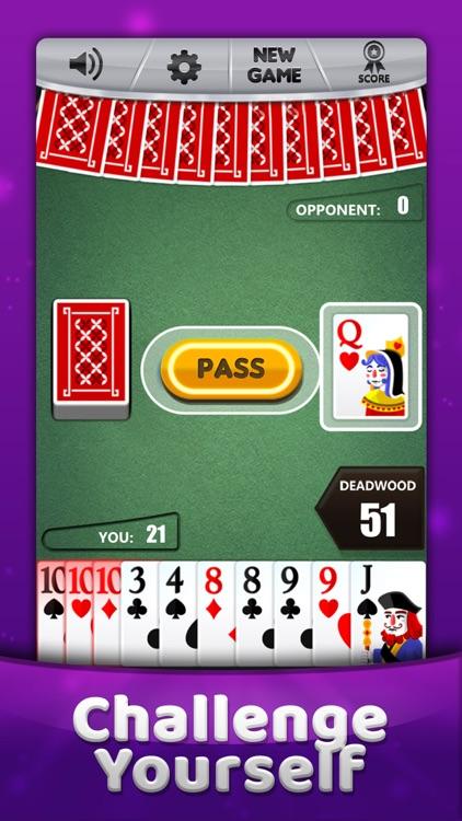 Gin Rummy * Classic Card Game screenshot-0