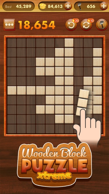 Wooden Block Puzzle Extreme screenshot-0