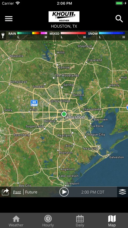 Houston Area Weather from KHOU screenshot-4