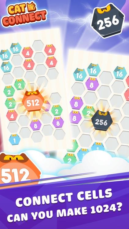 Cat Cell Connect - Hexa Blocks