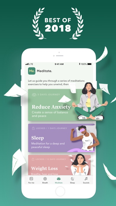 BetterMe: Calm,Sleep,Meditate app image