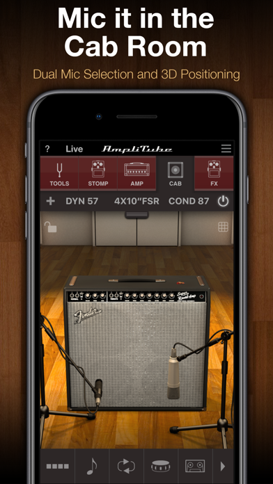 AmpliTube CS ScreenShot2