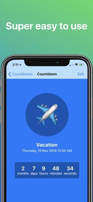 Countdown ◎ Screenshot