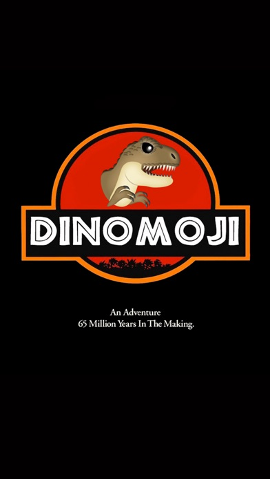 DinoMoji - Dinosaur Emoji screenshot 1