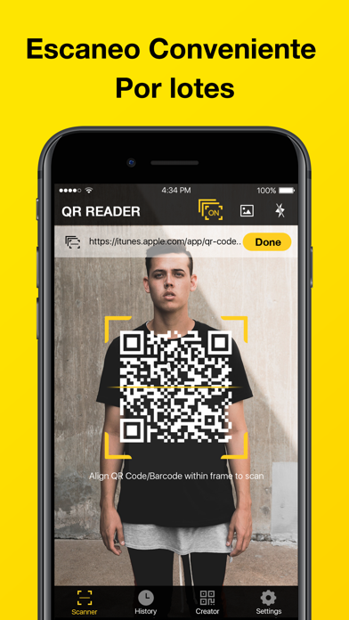 QR Code Scanner-Lector CódigosCaptura de pantalla de2