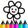 儿童游戏:3岁-6岁少儿画画涂色学习软件