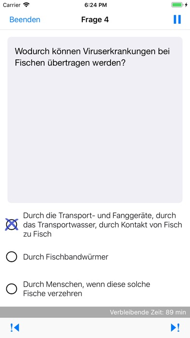 Screenshot for Fischereiprüfung NRW in Germany App Store