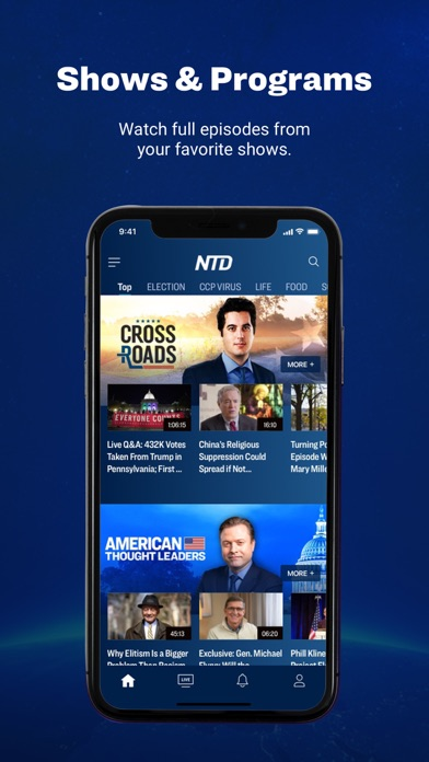 messages.download NTD: Live TV & Breaking News software
