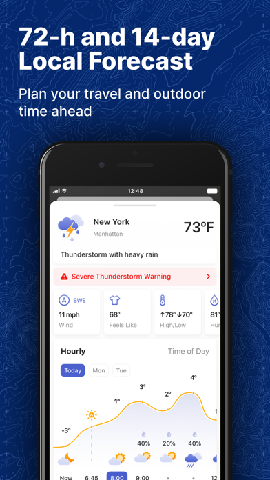 NOAA Realtime Weather Radar Screenshot